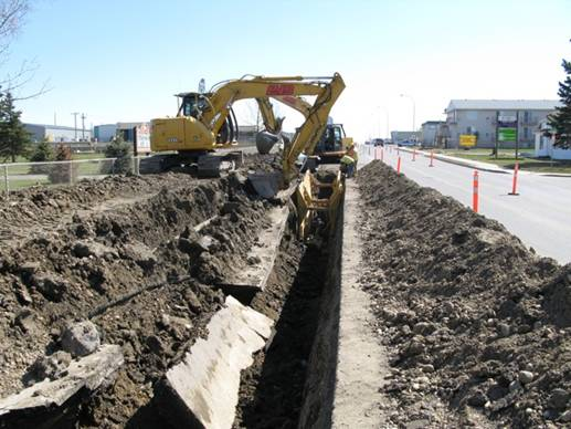 City of Fort St John – 100th Ave Watermain 100th