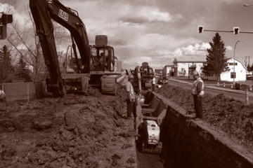 Civil Construction & Earthworks Projects 100th3 DuoTone 360x240