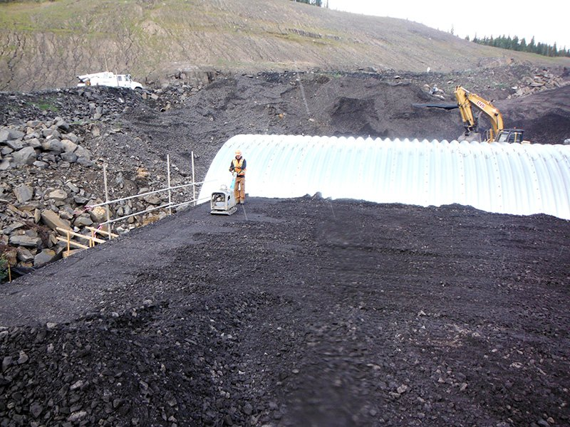 [object object] Peace River Coal – Arch Culvert Project PRC Arch Culvert 2 555x416