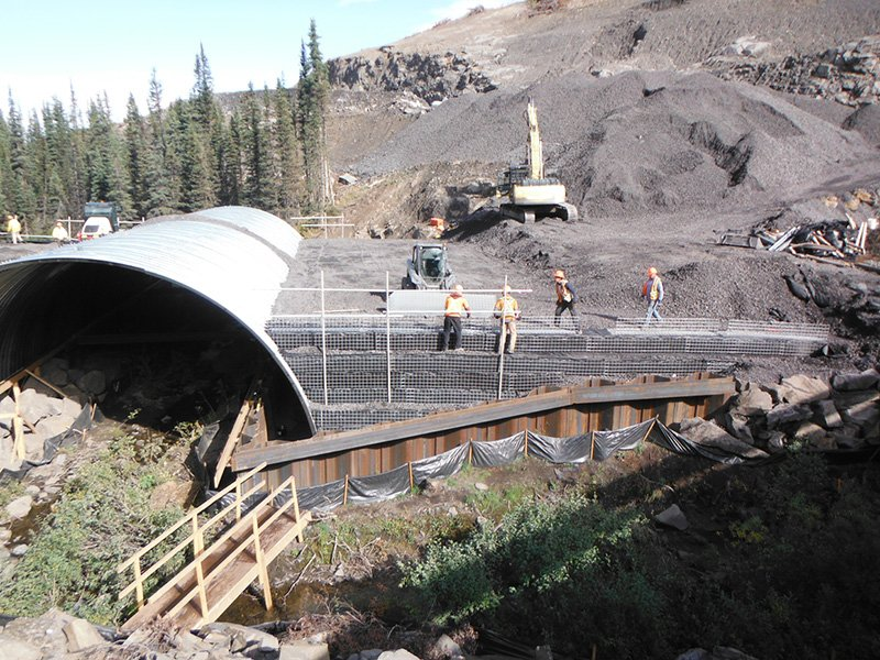 [object object] Peace River Coal – Arch Culvert Project PRC Arch Culvert 3 555x416