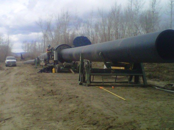 Domtar Pulp and Paper Mill – Treated Effluent Line LNB Domtar Treated Effluent Line 3 555x413