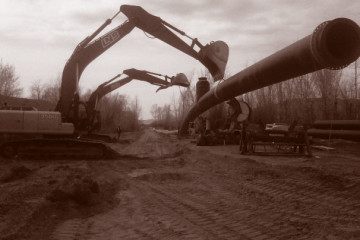 Civil Construction & Earthworks Projects LNB Domtar Treated Effluent Line DuoTone 360x240