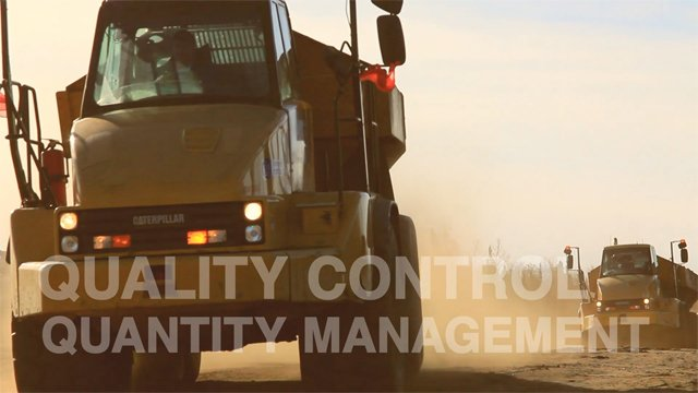 GPS machine control technology simplifies managing multiple earthworks machines  GPS Machine Control LNB GPS Controlled Machinery 1 DuoTone on