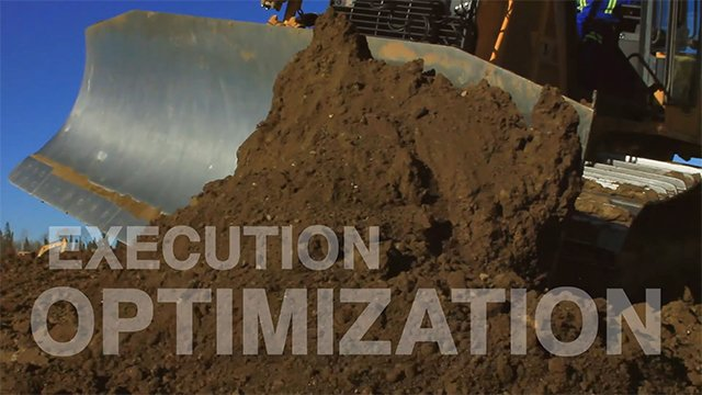 TOPCON positioning equipment reduces cut-fill ratios  GPS Machine Control LNB Project Management 2 DuoTone on