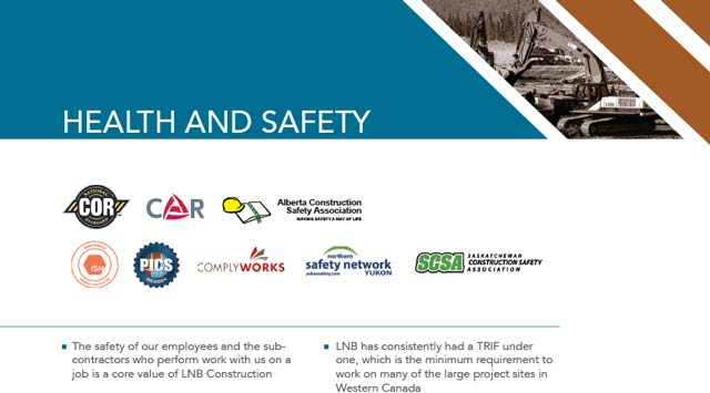 LNB Construction Health & Safety 2015 LNB Safety Brochure feature image