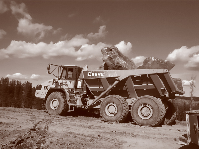 LNB Construction provides earthmoving equipment designed for every situation site development Site Development (NEW) LNB Site Development 3 DuoTone