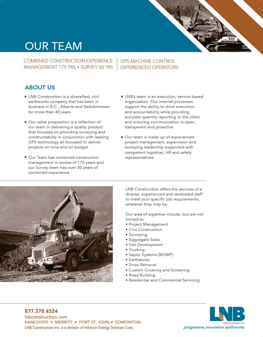 LNB Construction Team 2015 LNB Team Brochure Full web image