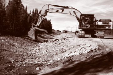 Civil Construction & Earthworks Projects Bessborough DuoTone 360x240