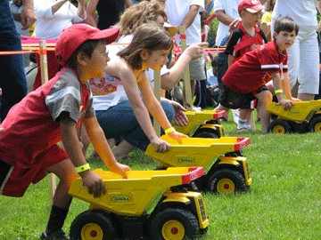 Collaborative. Inspiring. Exciting. Rewarding....words commonly used to describe careers at Infracon.  [object object] Careers Dump Truck Races