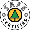 SAFE  Safety. No Excuses. logo safecompanycertified rgb