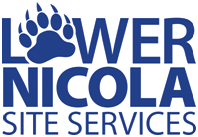 Lower Nicola Site Services infracon Infracon LNSS logo trans