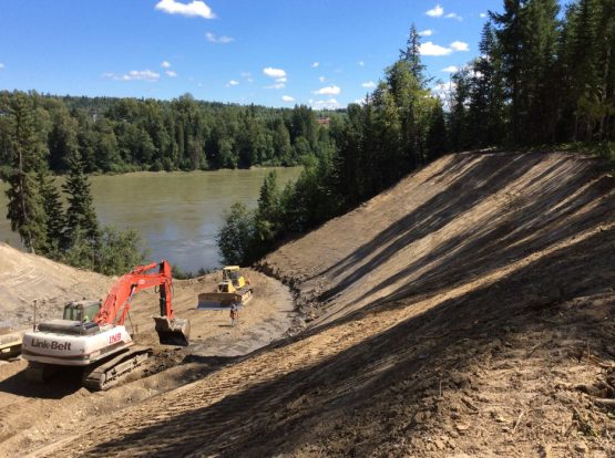 Fraser River Benchlands Channel Remediation project img 2 555x414